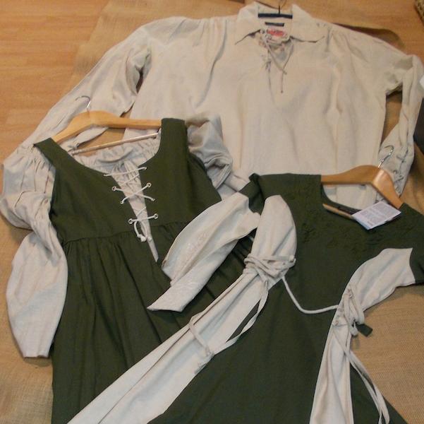 Mittelalterliche Kleidung
