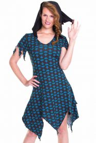 Kleid, Tunika mit Kapuze
