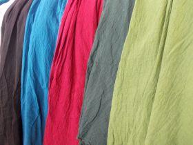 Weiter Tellerrock aus Baumwolle