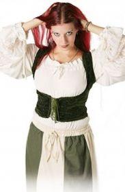 Bluse im mittelalterlichen Stil