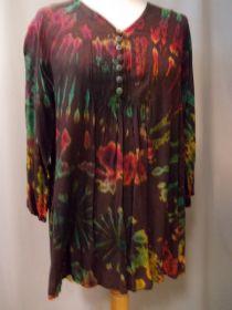 Batik Bluse