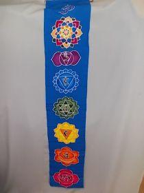 Chakren Banner, Wandbehang