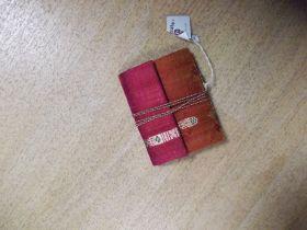 Notizbuch, Saree Stoffeinband