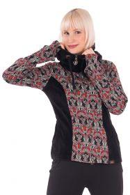 Kurze sportliche Jacke aus Baumwolle